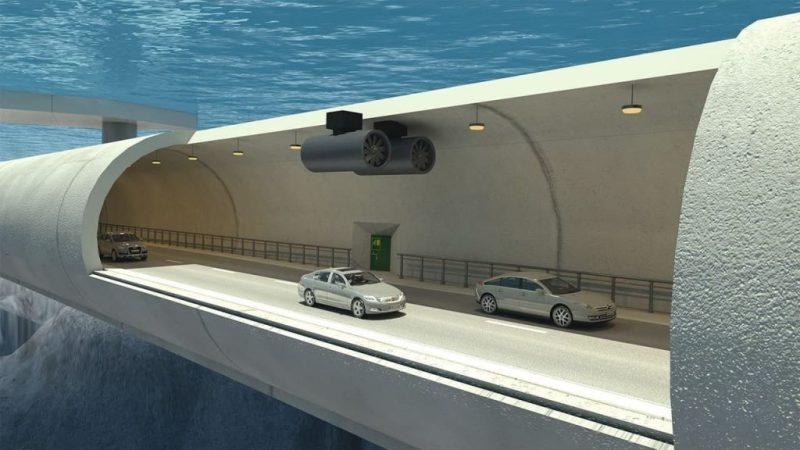 У Норвегії планують збудувати плавучий тунель