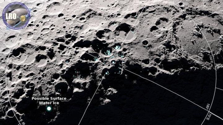 Молекули води «стрибають» поверхнею Місяця – дослідження