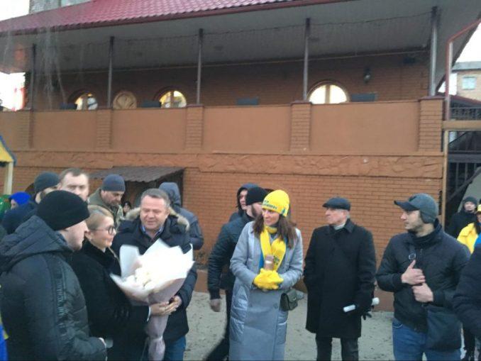 На мітинг Тимошенко привезли пенсіонерів