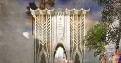 тріумфальна арка на честь анексії Криму
