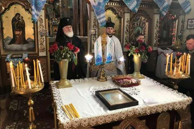 Архієпископ Дрогобицький і Самбірський Яків представив нового настоятеля храму о. Михайла Гавриліва