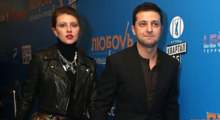 Зеленський і його дружина Олена