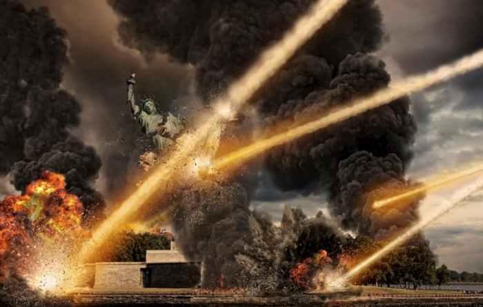 Астероїд дощенту зруйнував Нью-Йорк
