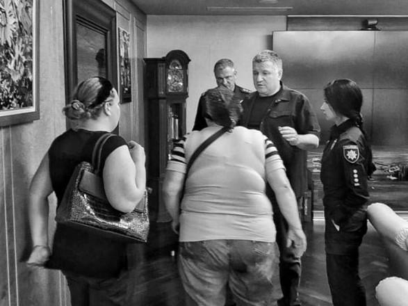 Міністр Аваков і родичі убитої дитини