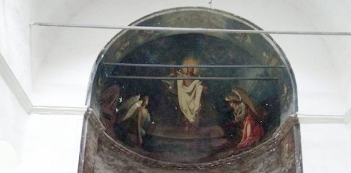 Фреска у храмі