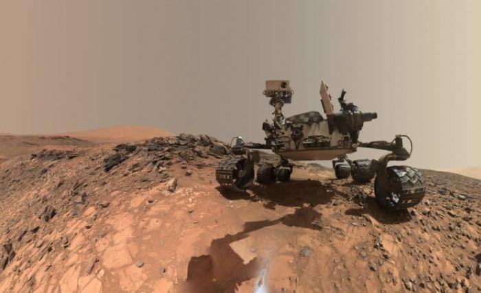 Апарат NASA на Марсі