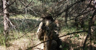 Російскі війська в Чорнобильській зоні