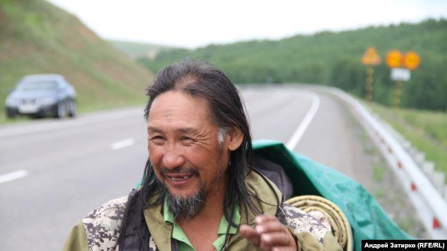 Якутський шаман Олександр Габишев