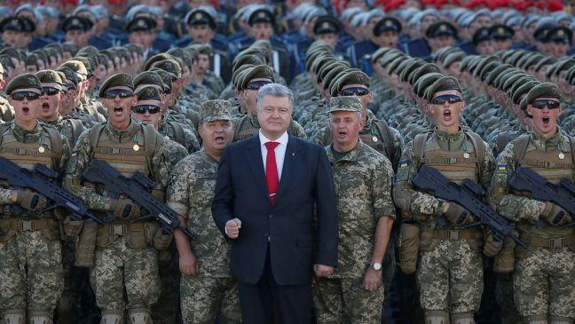 Петро Порошенко про військовий парад