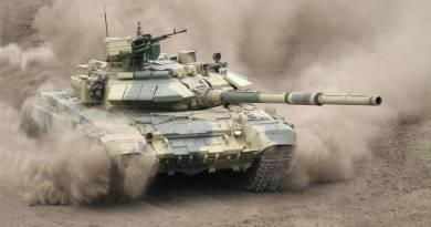 Танк Т-90 зі зварної вежею