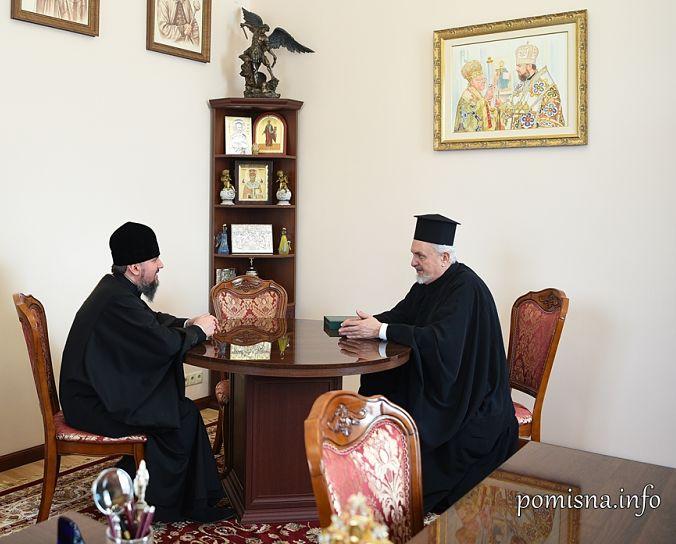 Предстоятель ПЦУ і митрополит Галльський Еммануїл