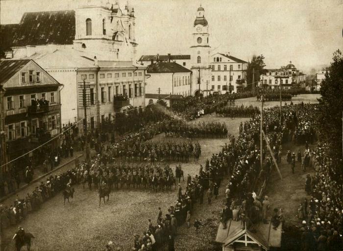 Парад військ Речі Посполитої, 1919 рік, Мінськ