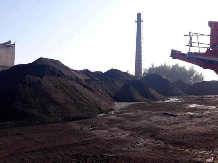 вугілля сепаратистів на українській ТЕС