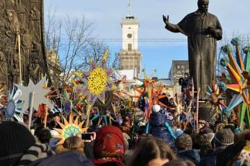 Святкування Різдва у Львові