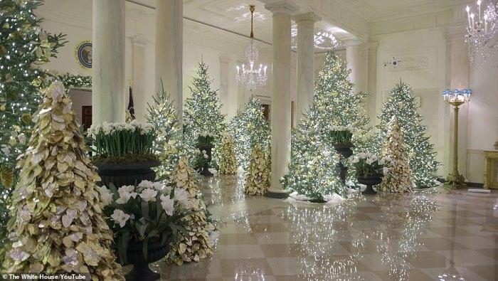 Білий Дім, Різдво