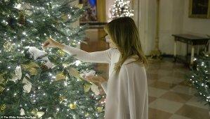Меланія Трамп, Різдво
