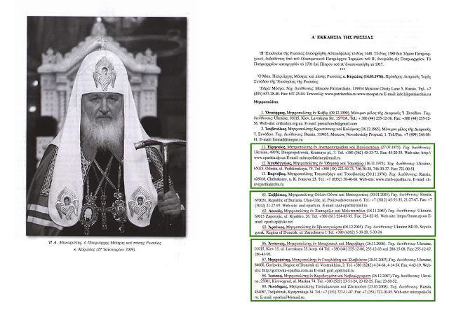 єпископи РПЦ в Україні