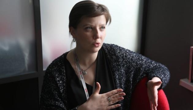 """Продюсер фільмів та серіалів телеканалу """"1+1"""" Олена Єремєєва"""