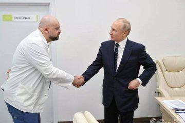 Заразився. Лікар, який потискав руку Путіну, захворів на коронавірус