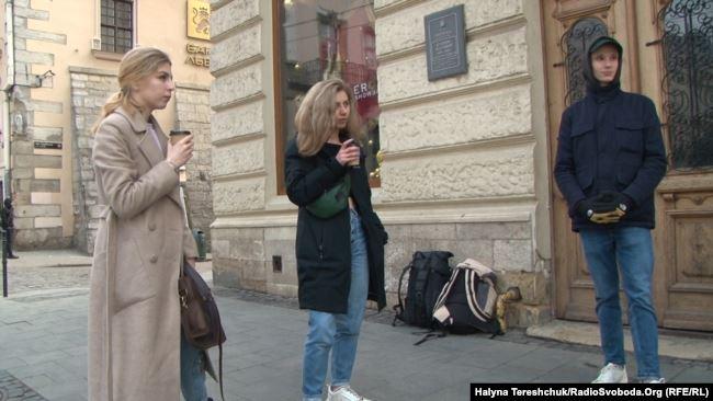 евакуйовані з Польщі у Львові
