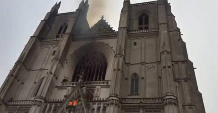 пожежа, собор