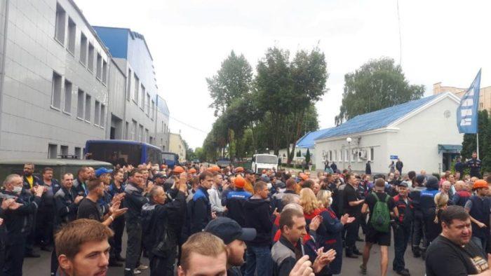 страйк у Білорусі