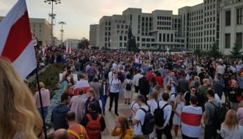 мінськ, протести