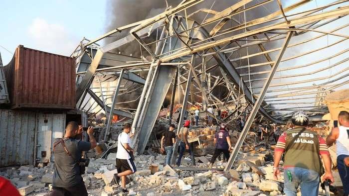 Бейрут, вибух