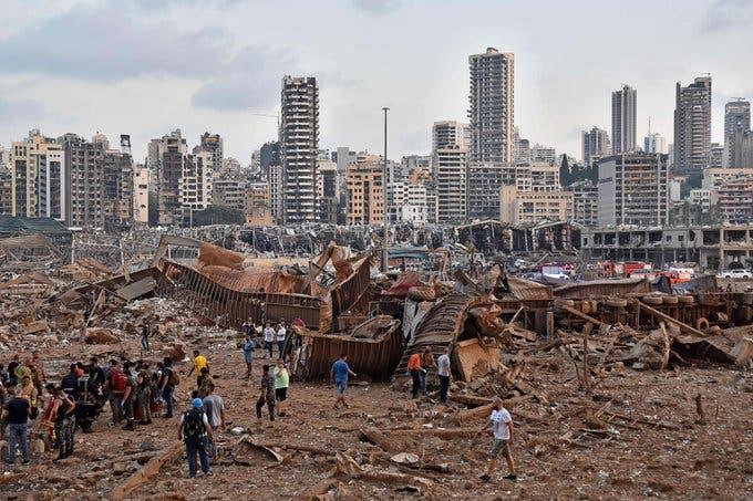 Бейрут вибух
