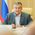 Крим, дефіцит води, Аксьонов
