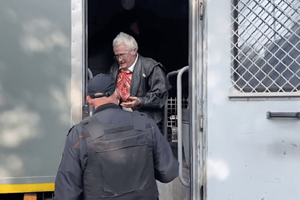 затримання пенсіонерки у Мінську