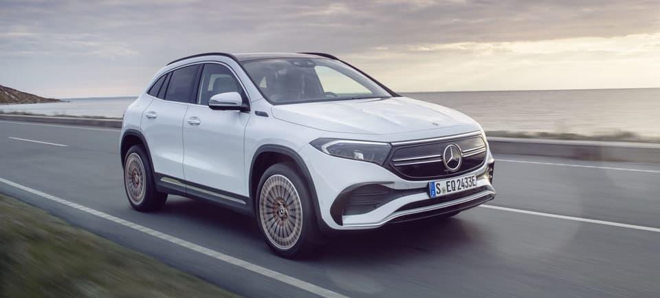 Mercedes-Benz представила електричний позашляховик ціною в 46  тис. доларів