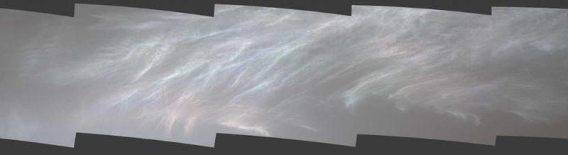 Curiosity сфотографував хмари на Марсі. Вони – кольорові