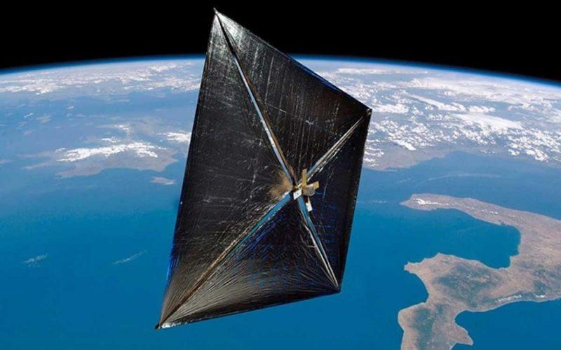 Створено концепт космічного апарату на сонячному вітрилі