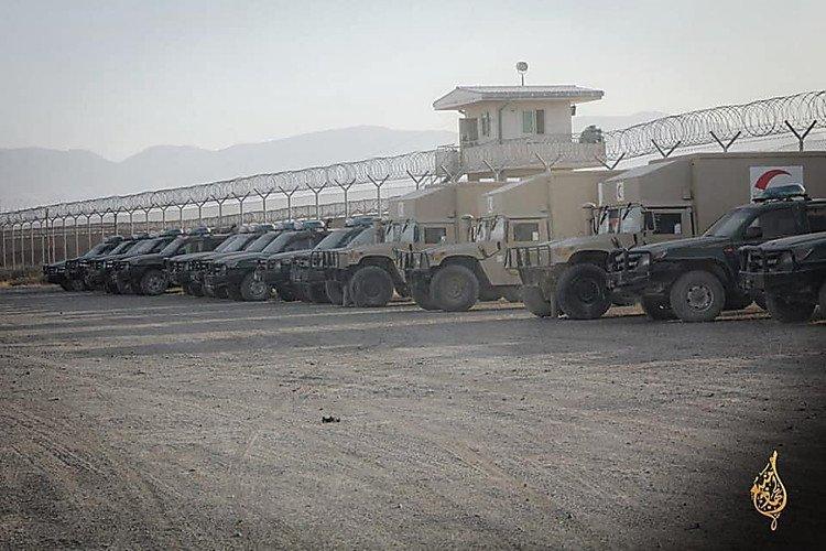 Какое оружие США захватили талибы в Афганистане