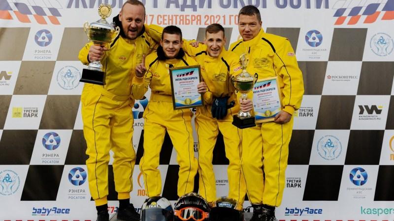 Команда АО «Третий Парк» по картингу одержала победу в турнире «Жизнь ради спорта».