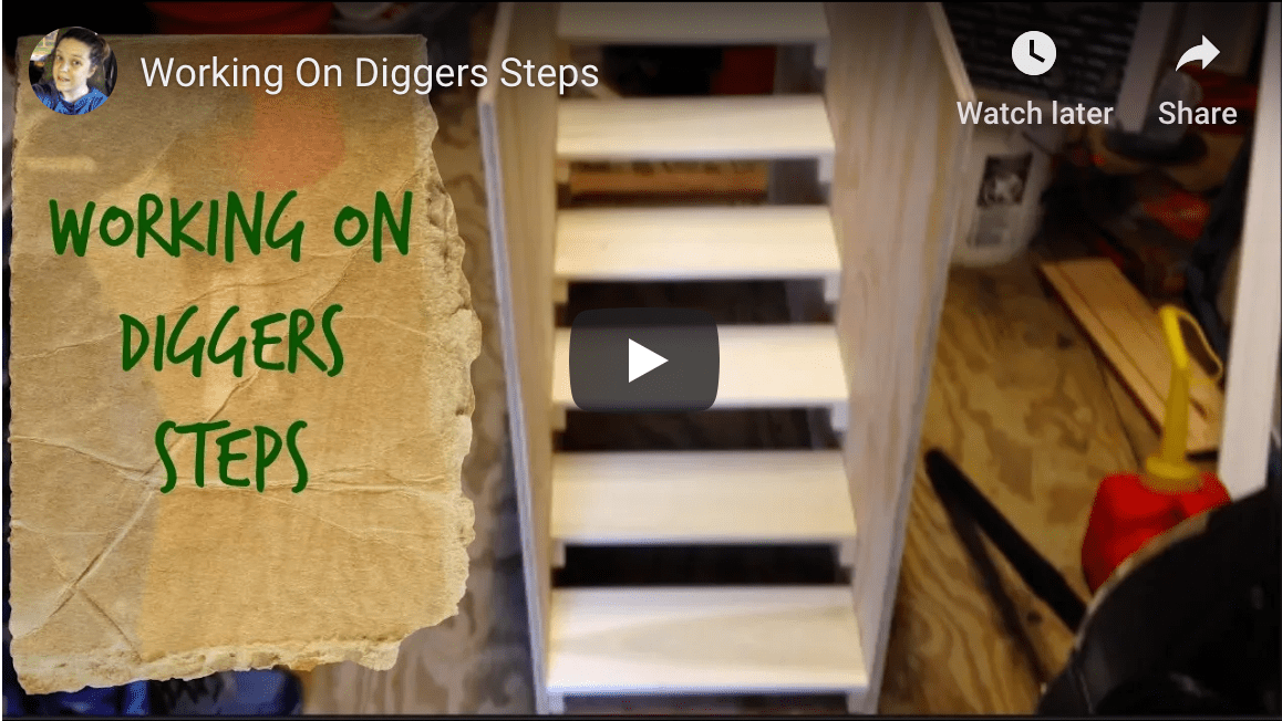 Working on Digger's Steps