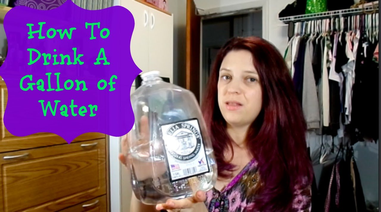 How To Drink A Gallon Of Water