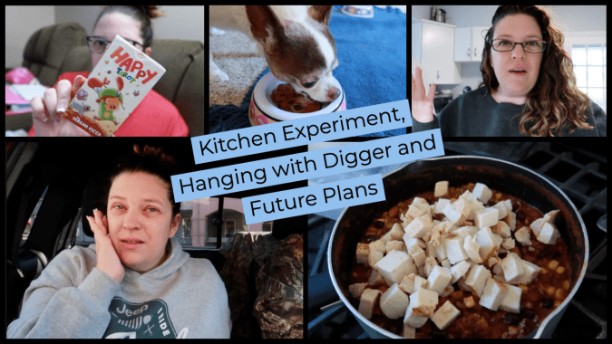 Kitchen Experiment, Hanging with Digger and Future Plans