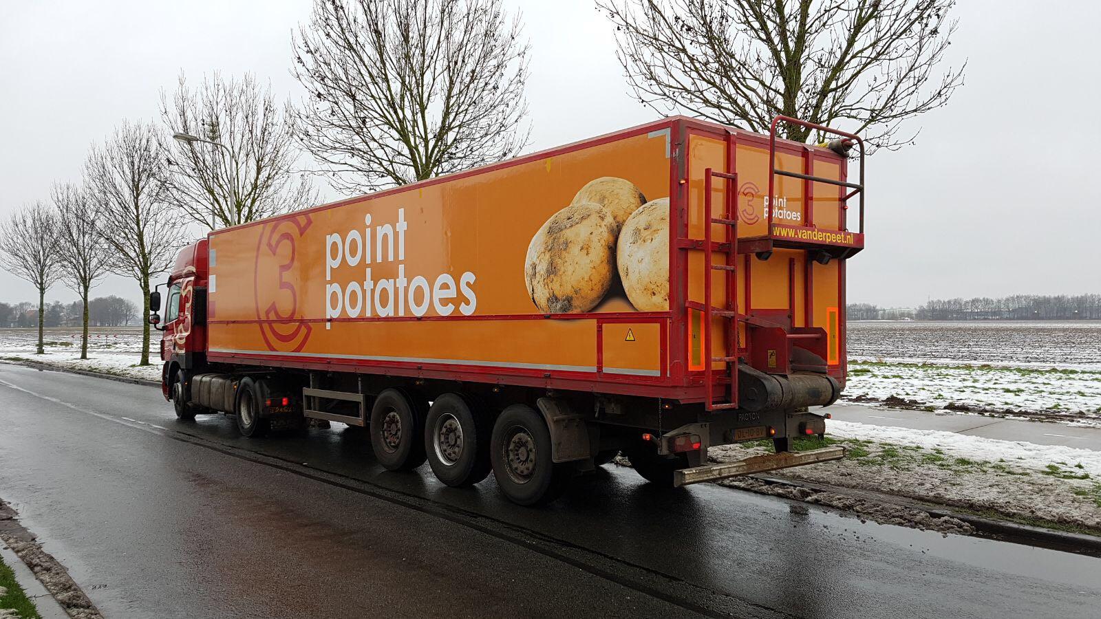 Transport Import en Export Aardappelen Limburg 3 Point Potatoes