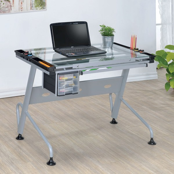 Desk with Pull Out Table