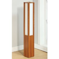 Accent Oriental Shoji Sleek Lines Floor Lamp Lighting