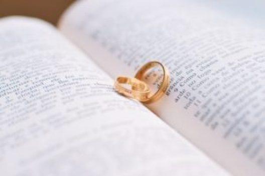 聖書と結婚指輪