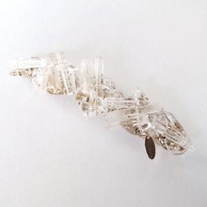 cilsoie/crystal バレッタ