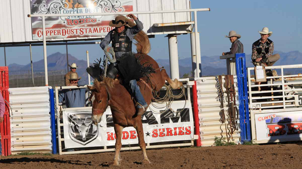 Earnhardt Auto Centers Sponsor Grand Canyon Pro Rodeo