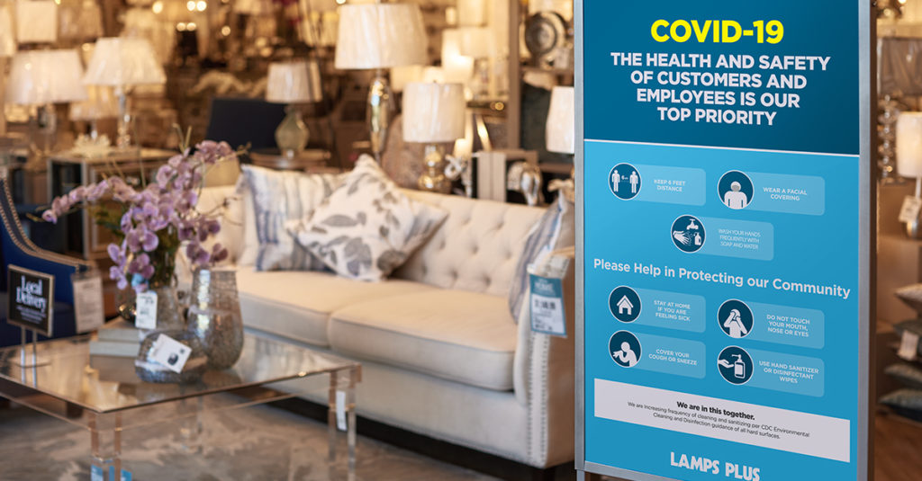 lamps plus reopens first stores in