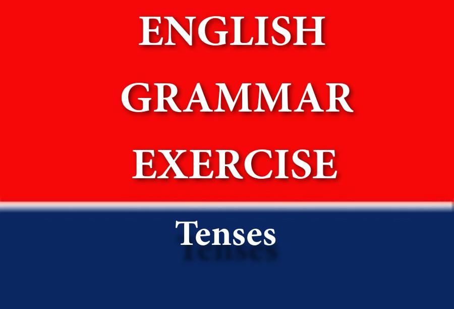تمارين الازمنة في الانجليزية | Exercises