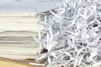 تدوير الورق