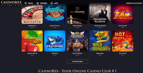 Play in online  casino Canada