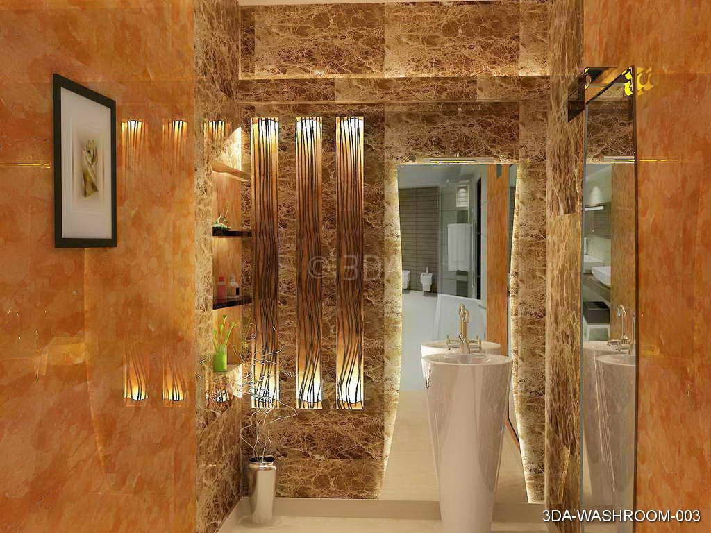 3DA  Best Washroom interior Decorators in Delhi and Best